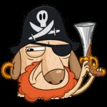 Пират Дигги: cтикер №31