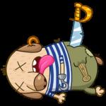Пират Дигги: cтикер №33