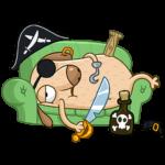 Пират Дигги: cтикер №35
