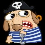 Пират Дигги: cтикер №37
