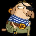 Пират Дигги: cтикер №40