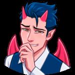 Дьявол: cтикер №8