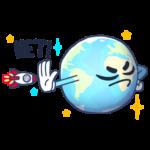 Парад планет: cтикер №39