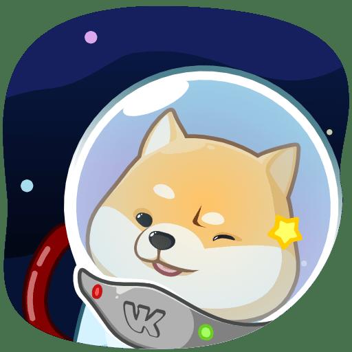 Стикеры «Космический рейнджер Акио»
