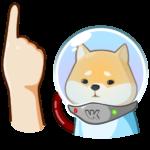 Космический рейнджер Акио: cтикер №13