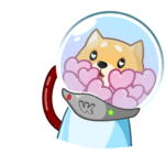 Космический рейнджер Акио: cтикер №24