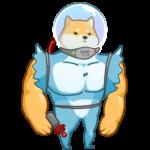 Космический рейнджер Акио: cтикер №25
