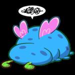Бабочка Лусия: cтикер №10