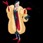 Круэлла де Виль: cтикер №1