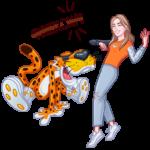 Cheetos: cтикер №13