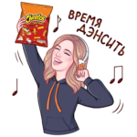 Cheetos: cтикер №18
