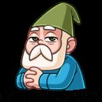 Деда Гном: cтикер №3