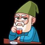 Деда Гном: cтикер №14