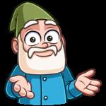 Деда Гном: cтикер №32