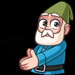 Деда Гном: cтикер №44