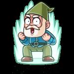 Деда Гном: cтикер №48