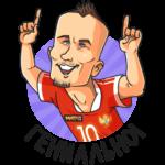 Евро 2020: cтикер №13
