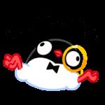 Приличный Пингвин: cтикер №15