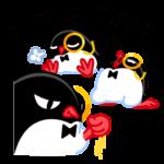 Приличный Пингвин: cтикер №35
