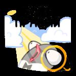 Приличный Пингвин: cтикер №36