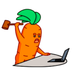 Морквоша: cтикер №5