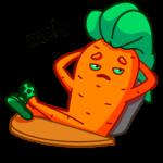 Морквоша: cтикер №6