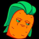 Морквоша: cтикер №12