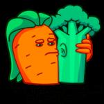 Морквоша: cтикер №14
