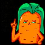 Морквоша: cтикер №18