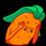 Морквоша: cтикер №21