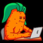 Морквоша: cтикер №27