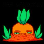 Морквоша: cтикер №33