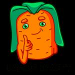 Морквоша: cтикер №41