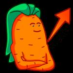 Морквоша: cтикер №42