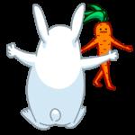 Морквоша: cтикер №47